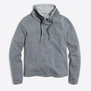 J. Crew Reversible tunnelneck pullover sweatshirt
